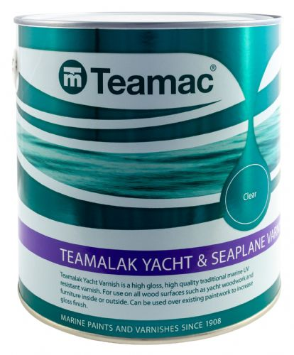 Teamac Teamalak Yacht Varnish Clear